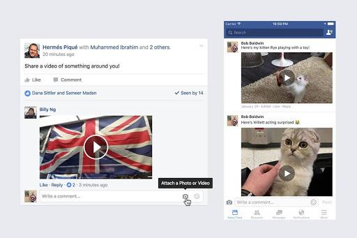 فيس بوك تطلق خاصية جديدة ينتظرها المستخدمين
