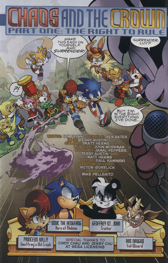 Read online Sonic The Hedgehog comic -  Issue #223 - 4