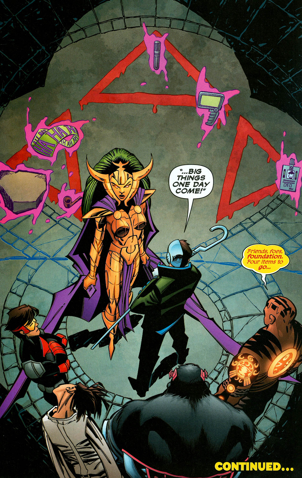 Read online Trinity (2008) comic -  Issue #10 - 30