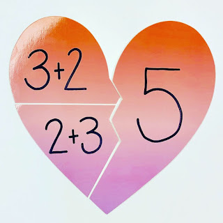 Math activity for Valentine's