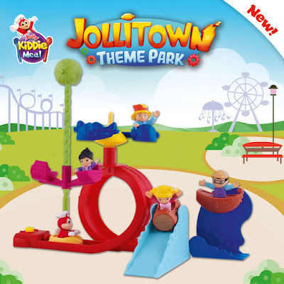 Build your own Jollitown Theme Park with newest Jolly Kiddie Meal toys