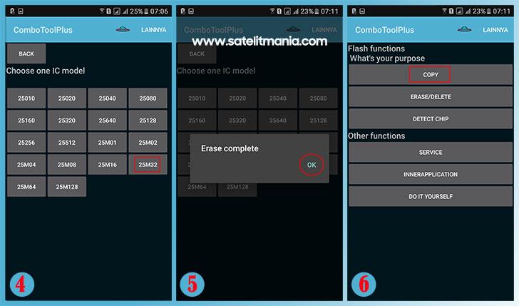 Cara Flashing IC Eeprom via Android dengan Mudah