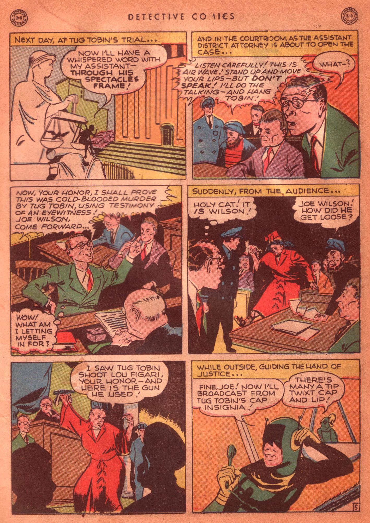 Read online Detective Comics (1937) comic -  Issue #125 - 21
