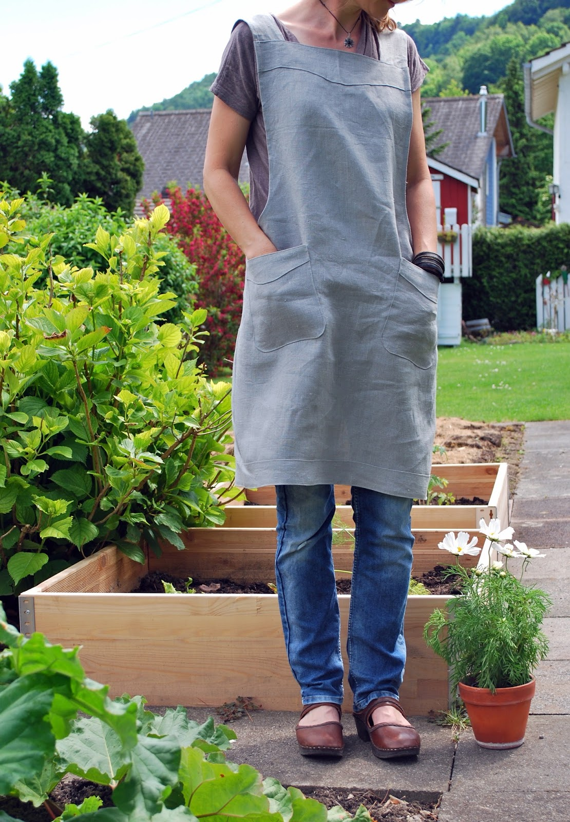 mamas kram: Japanische Garten-Schürze