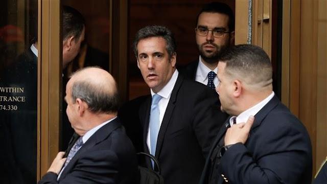 US President Donald Trump denies his personal lawyer Michael Cohen will 'flip' under probe
