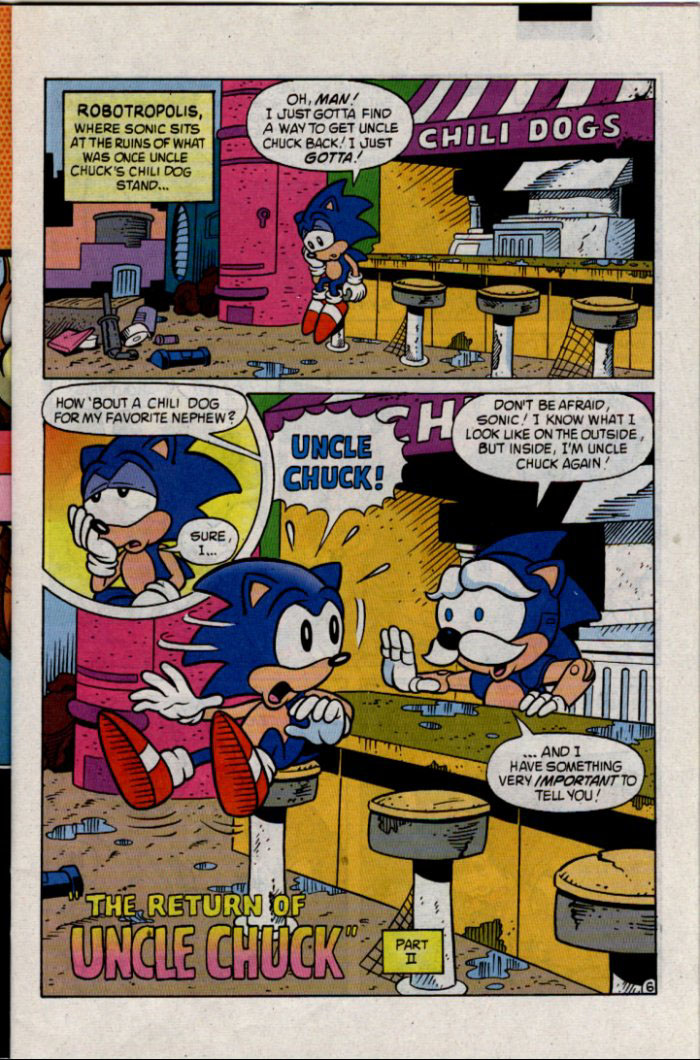 Read online Sonic The Hedgehog comic -  Issue #30 - 7