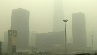 Pencemaran udara yang terjadi di Inggris