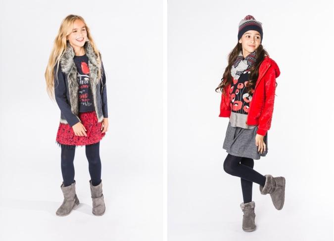 Moda niñas bóboli otoño invierno 2017