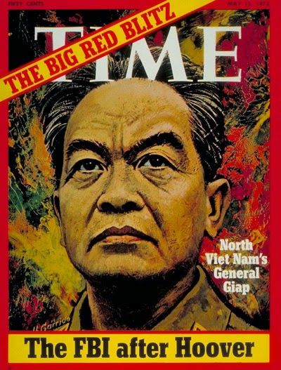 Vo Nguyen Giap in Time Magazine. The vietnam general that defeat United States army forces.