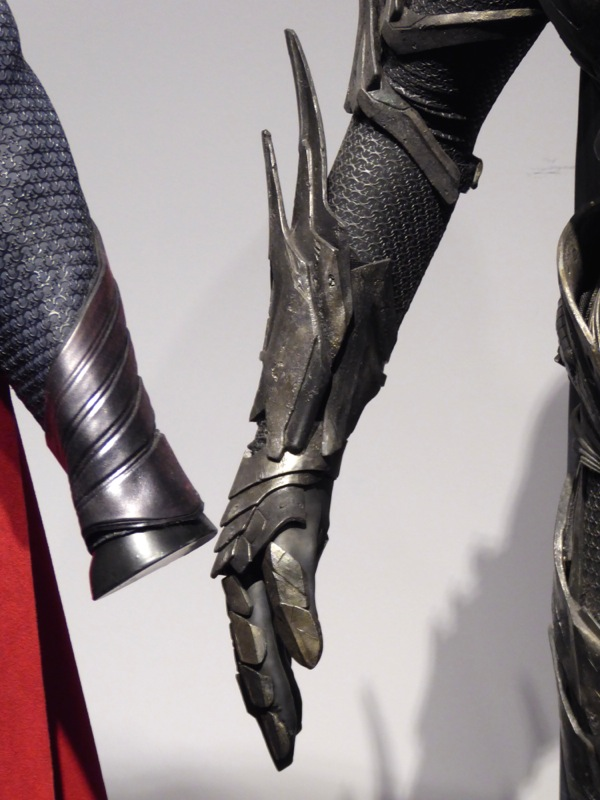 Faora-Ul Man of Steel costume glove detail