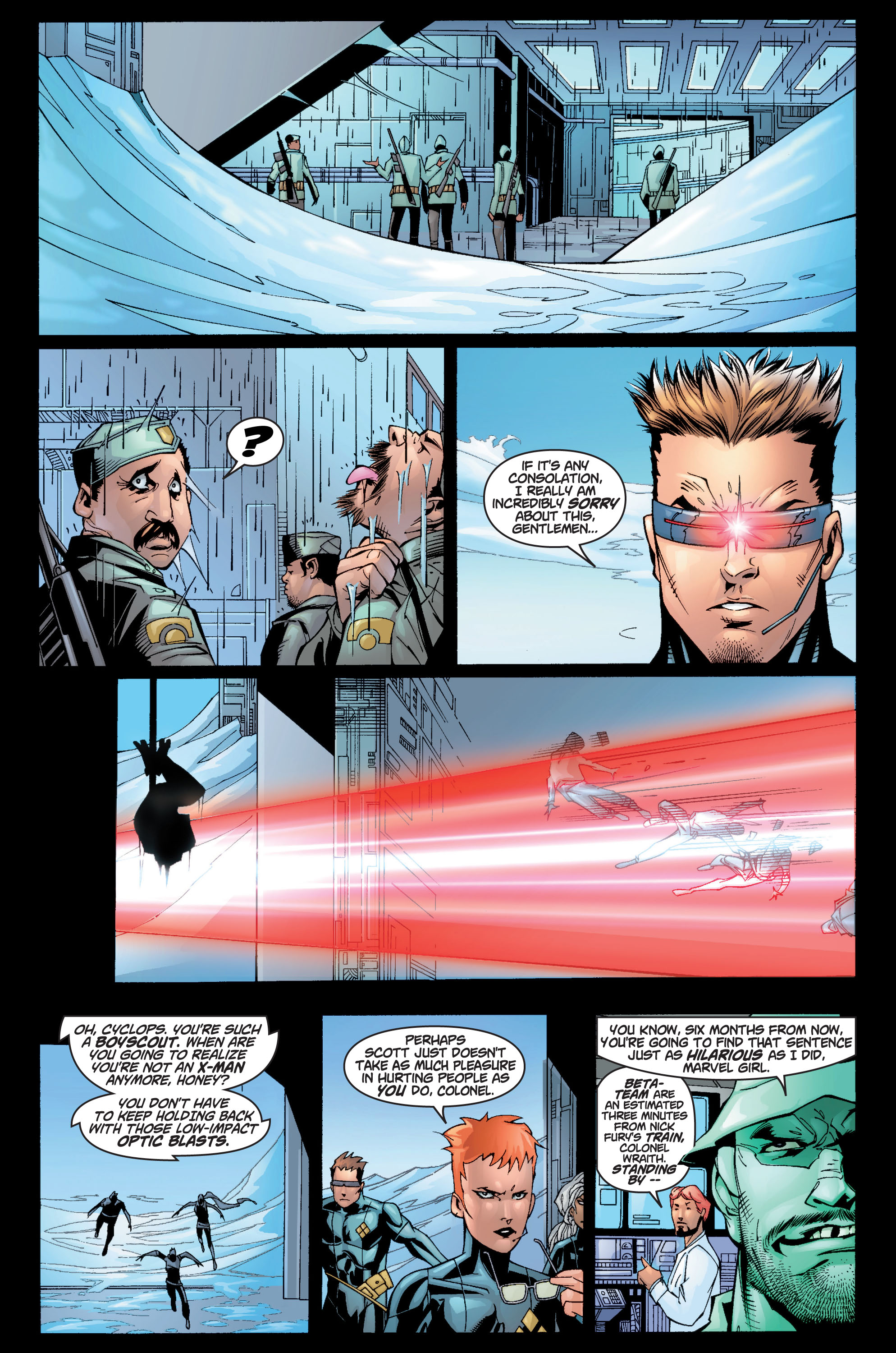 Read online Ultimate X-Men comic -  Issue #10 - 4