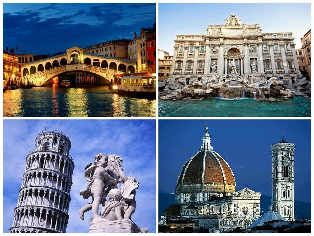 Ciudades mas turisticas de Italia