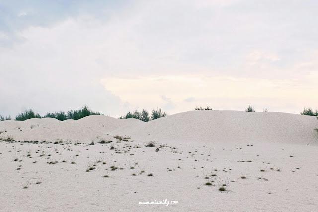 padang pasir pantai klebang melaka