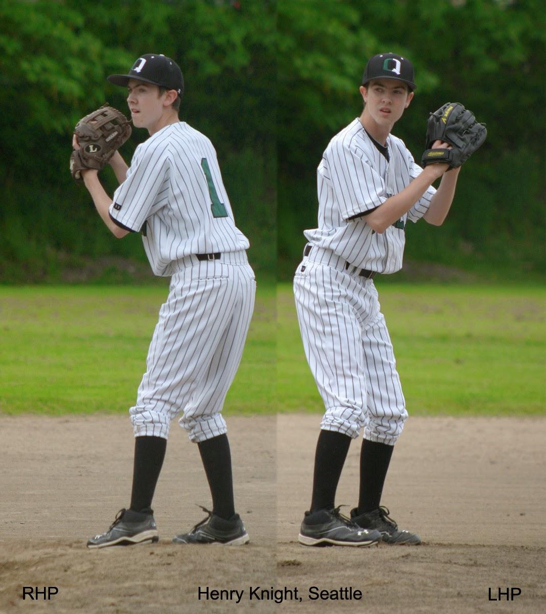 Henry Knight, ambidextrous pitcher, Seattle