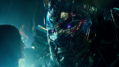 Transformers The Last Knight Movie  Optimus Prime Face Image