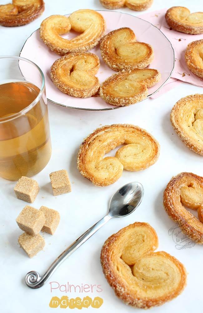 Biscuits Palmiers Maison Faciles Et Rapides Il Etait Une Fois La Patisserie