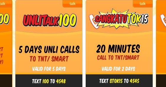 The Talk 'N Text (TNT) Internet Promos makes it possible for millions of TNT subscribers to enjoy wide range of internet dendeseabli.cf just a smart phone and a TNT SIM Card, subscribers can access the web and use their favorite apps.