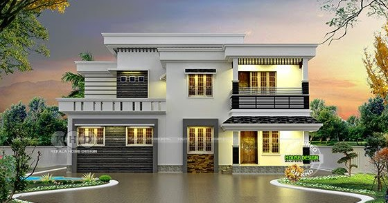 Low Cost 631 Sq Ft Kerala Single Storied Homes: 1949 Sq-ft 4 Bed Low Cost Home In Different Look