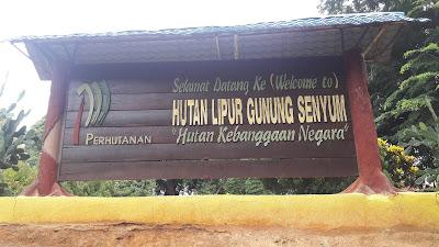 Hiking @ Gunung Senyum, Temerloh