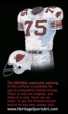 1988 Phoenix Cardinals uniform