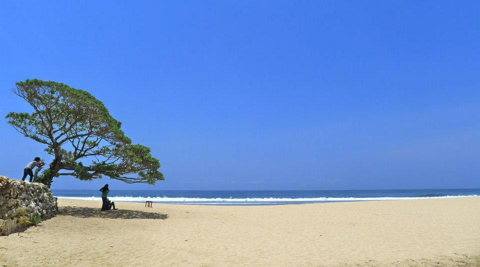 pantai indah dan manis cewek cantik dan manis Pantai Pok Tunggal