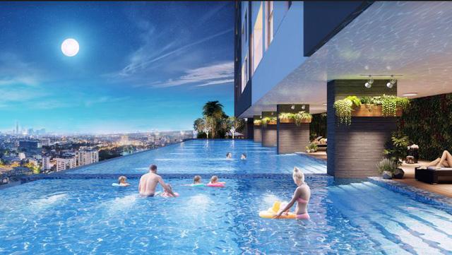 Tiện ích bể bơi tại The Golden Palm