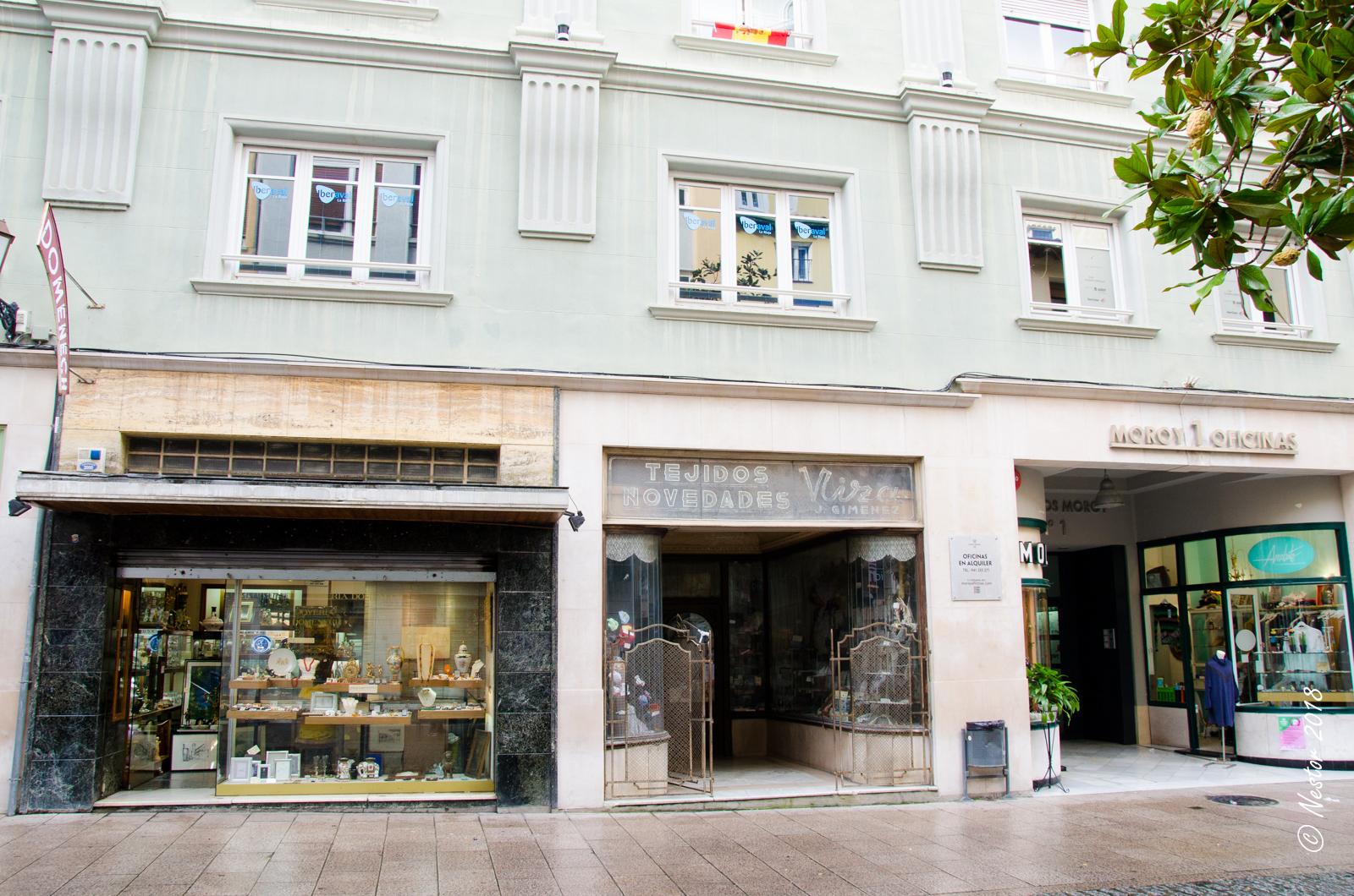 La lente de n stor comercios edificios y lugares antiguos de logro o - Cristalerias en logrono ...