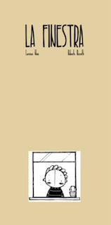 copertina di La finestra di Lorenzo Naia e Roberta Rossetti
