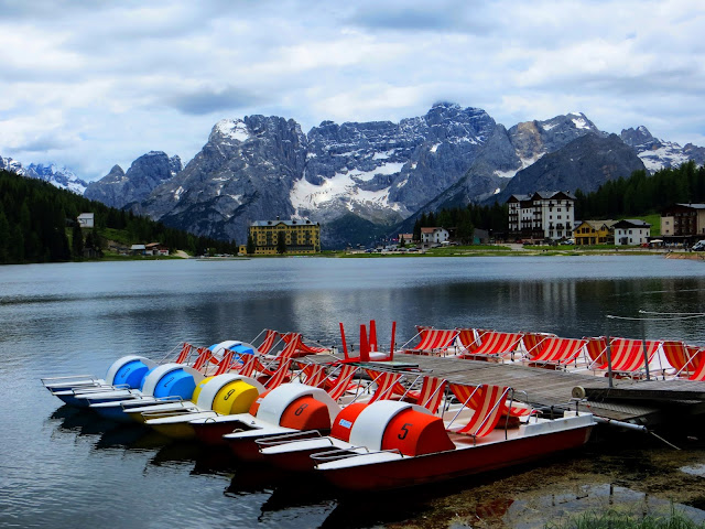 Lake Misurina, most beautiful lake in the world