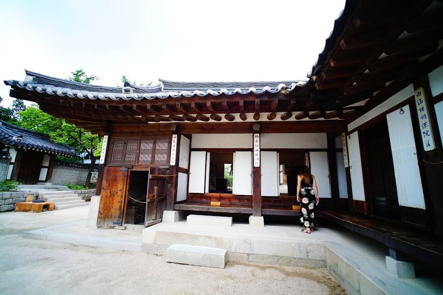 Namsangol Hanok village, N Seoul Tower, Seoul