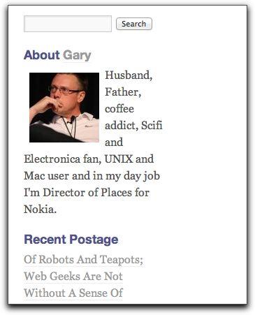 WordPress Biographia