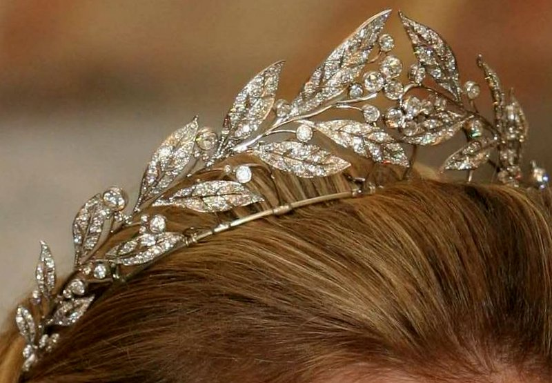 A Classic Belgian Wedding: The Royal Order Of Sartorial Splendor: Tiara Thursday