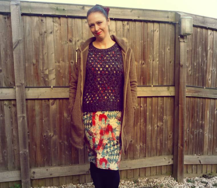 What I Wore: Keeping Warm And Cosy With Layers