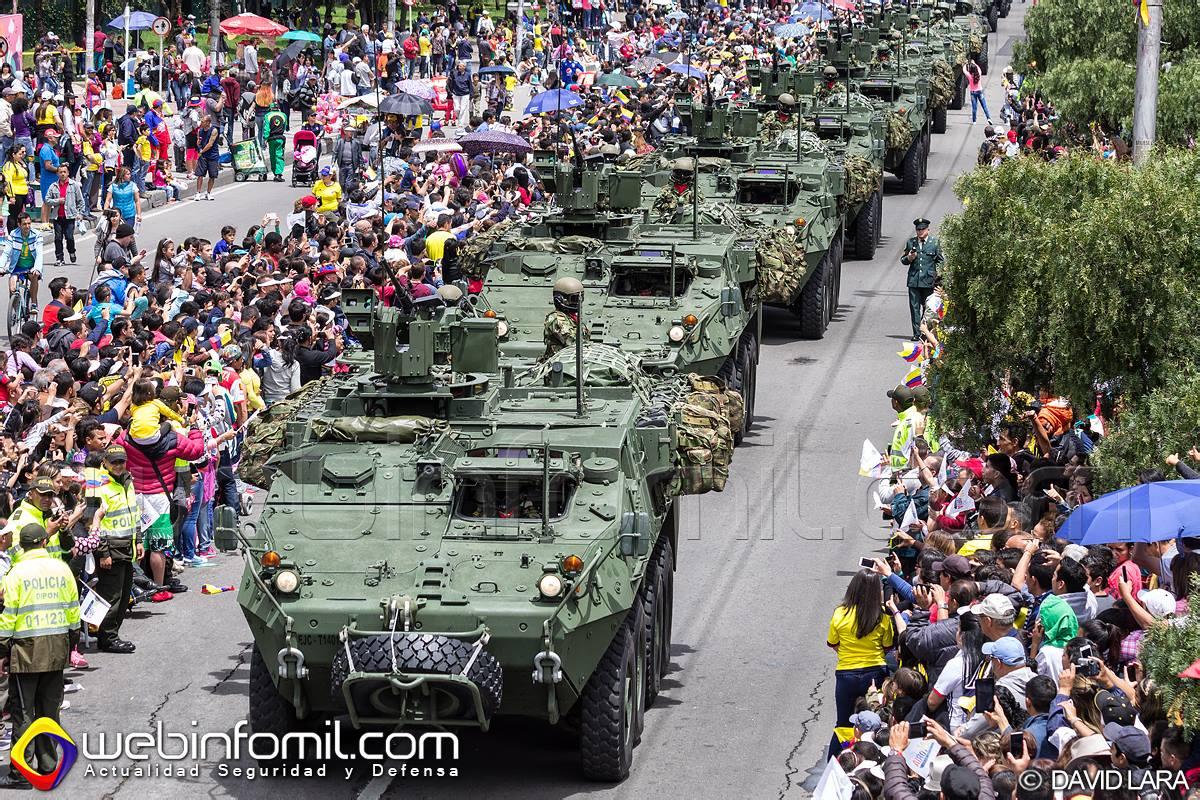 Imponente y vibrante desfile militar se vivi en bogot for Jardines 20 de julio bogota