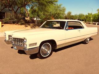 1966 Cadillac Coupe DeVille Front Left