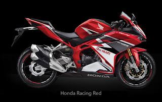 setelah selesai memperkenalkan diri ke hadapan publik dan membuat siapa saja yang melihat Inilah 3 Varian Warna Honda All New CBR250R 2016