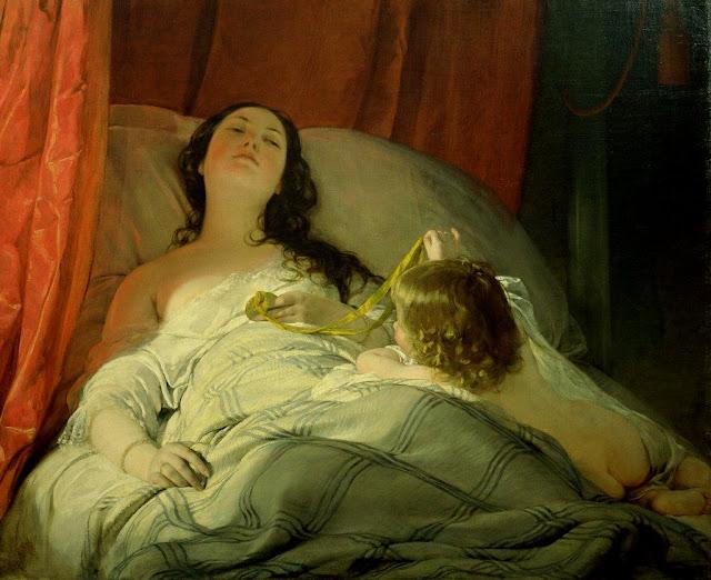 Friedrich von Amerling - Sumida en sueños - 1830-50