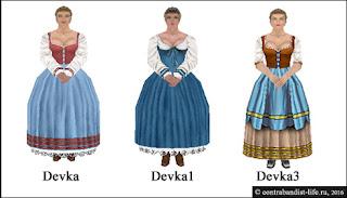 Женские персонажи