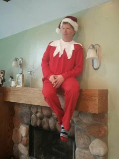 Real Elf on Shelf