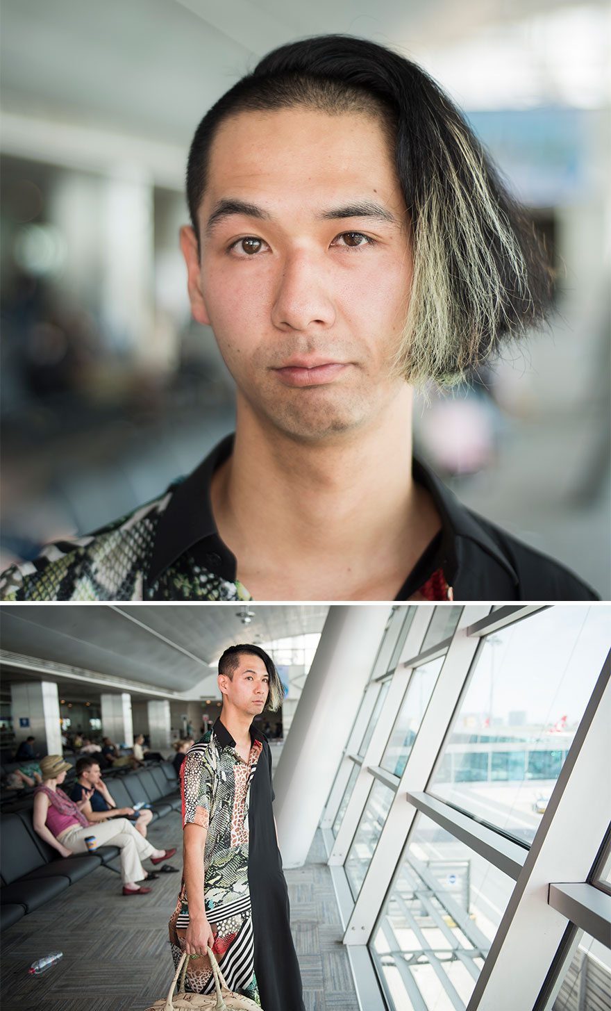 Photographer Captures Extraordinary People From All Across The World At Turkish Airport