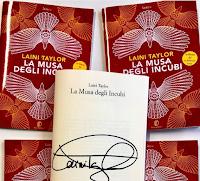 Logo ''La Musa degli incubi'' vinci gratis 10 booklet autografati e contenenti i primi 3 capitoli del libro