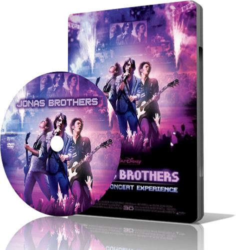 Jonas Brothers: The 3D Concert Experience (2009) Bluray