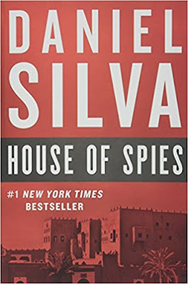 House of Spies by Daniel Silva (Book cover)