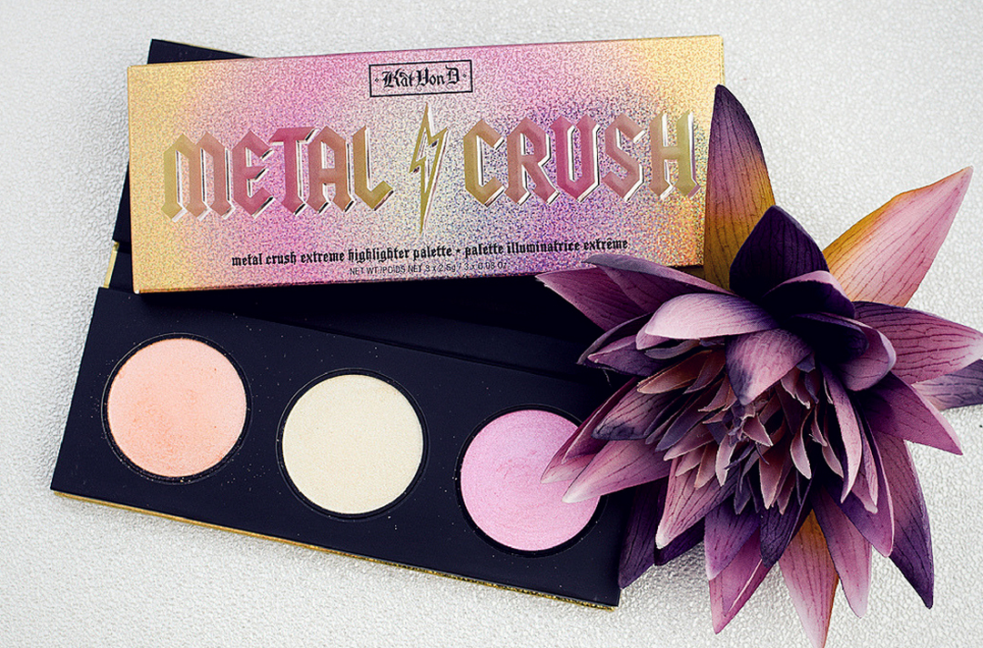Kat von D Metal Crsuh Highlighter Palette, Test und Review