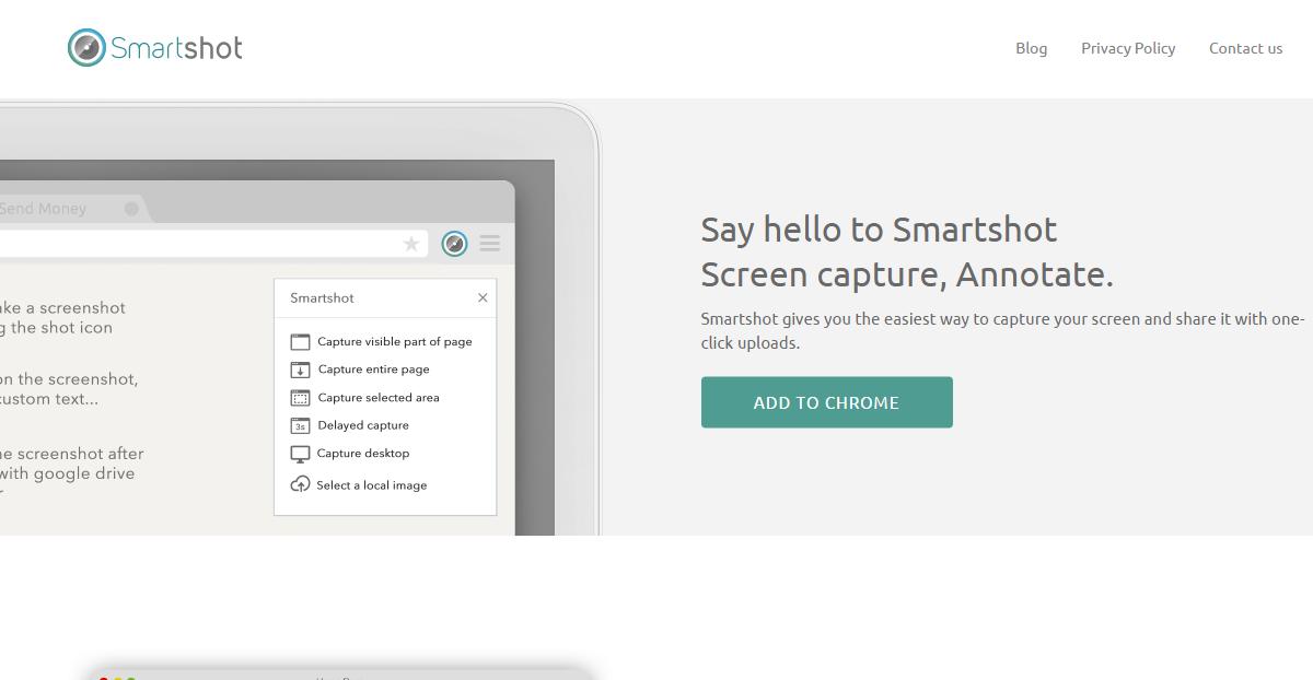 最優雅截圖軟體 Smartshot 抓圖、標註、上傳一氣呵成