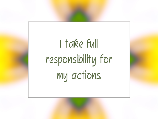 SELF-AWARENESS affirmation
