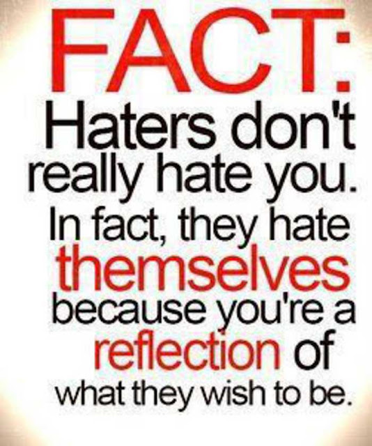Keep On Hating Quotes: Amelie's Blog : Haters