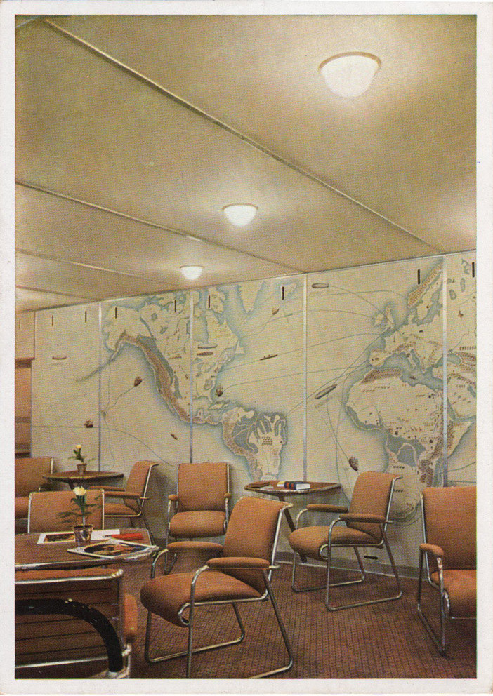captain chairs dining room jazzy mobility chair parts inside the hindenburg: rare vintage photographs reveal what luxury air travel was like in ...
