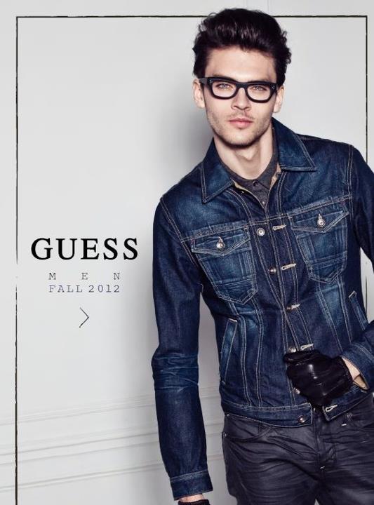 Guess Men's Lookbook For Fall 2012