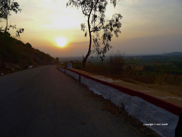 On the Way to Nandi Hills, Bangalore